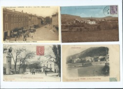 14  Cartes  Ardèche - Sonstige Gemeinden