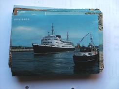 België Belgique West Vlaanderen Oostende Zeevaartlijn Met Dover Boot Reine Astrid - Oostende