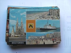 België Belgique West Vlaanderen Oostende Fraaie Bezienswaardigheden - Oostende