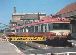 Autorails X 4612 Et X 4614, En Gare De Paray-le-Monial (71) - - Paray Le Monial