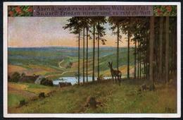 1258 - Alte Künstlerkarte - Volksliederkarte Paul Hey - Nr. 65 - Abend Wird Es Wieder - VDA - Hey, Paul