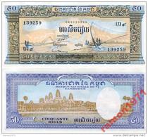 Cambodia - 50 Riels 1956-1975 UNC - Cambodia