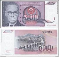 Yugoslavia - 5000 Dinar 1991 UNC - Joegoslavië