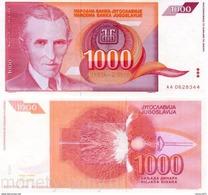 Yugoslavia - 1000 Dinar 1992 UNC - Yougoslavie