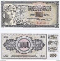 Yugoslavia - 1000 Dinar 1981 UNC - Joegoslavië