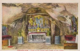 PALESTINE . JERUSALEM . Tomb Of The Virgin And Grotte Of The Agony - Palestine