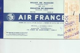 AIR FRANCE BILLET - Europe