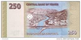 YEMEN ARAB P. 35 250 R 2009 UNC - Yémen