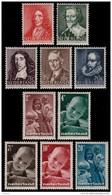 ~~~ Netherlands 1947 - Complete Year Set / Compleet Jaar - NVPH 490/499 ** MNH ~~~ - Paesi Bassi