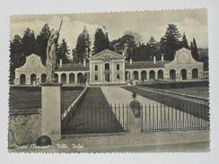 TREVISO - Maser - Villa Barbaro Volpi Con Ringhiera In Ferro Battuto - 1956 - Treviso