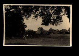 B3469 AFRICAN VILLAGE - ANDEGLE (?) - Cartoline