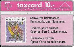Switzerland: Schweizer Briefmarken - Kunstwerke Zum Sammeln, Eulen - Timbres & Monnaies