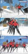 Swisscom: CP91-93 Erlebnis Im Nordischen Sport - Suisse
