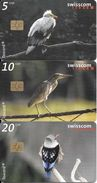 Swisscom: CP112-114 Vogelwelt - Suisse
