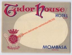 Tudor House Hotel - Mombasa Kenya - Etiquettes D'hotels