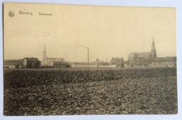 Wervicq - Panorama Wervik FELDPOST 1915 - Wervik