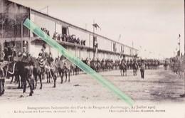 Inauguration Solennelle Des Ports De BRUGES Et ZEEBRUGGE? 23 Juillet 1907 - Régiment Des Lanciers Escortant Le Roi - Inaugurations
