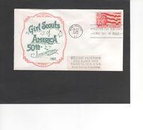 SCOUTISME / GIRL SCOUTS OF AMERICA / BURLINGTON / FDC1962 ( REF 463) - Scoutisme