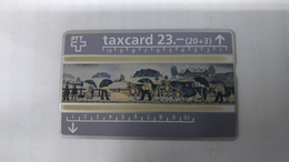 Switzerland-(benefit-b-02)-welrorganisation Fur Das Kind-(205d)-100.000-mint Card+1card Prepiad Free - Suisse