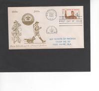 SCOUTISME / BOY SCOUTS OF AMERICA / TROOP N°63 - FORT PAYNE / Cachet WASHINGTON  / FDC 1960  ( REF 473) - Brieven En Documenten