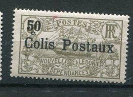 4531   NOUVELLE CALEDONIE  Colis Postaux  N° 1 *  50c S. 5f Olive  Surchargé    1926   TB - New Caledonia
