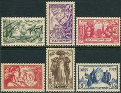 Dahomey 1937. Michel #96/102 VF/MNH. World Exhibition In 1937, Paris. (Ts48) - 1937 Exposition Internationale De Paris