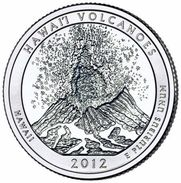 USA EEUU 25 CENTS. QUARTER DOLLAR VOLCANES HAWAI 2012  D O P  A ELEGIR  UNC - PAS CIRCULÉE  - SC - EDICIONES FEDERALES