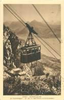74 - VEYRIER-DU-LAC - Le Téléphérique - Le Lac Et Montagnes D'entrevernes - Veyrier