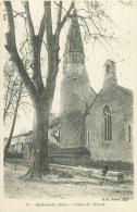 38 - CREMIEU - Abside De L'Eglise - Crémieu