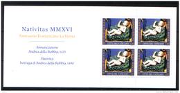 Vaticano 2016 Libretto Sass.Lib.24 **/MNH VF - Blocs & Feuillets
