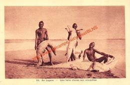 Au Logone - Une Belle Chasse Aux Crocodiles - Centraal-Afrikaanse Republiek