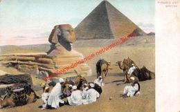 Pyramid And Sphynx - Sphinx