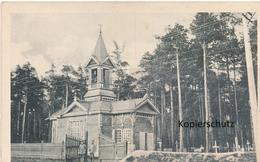 AK Baranowitschi, Kapelle Am Waldfriedhof - Weißrussland