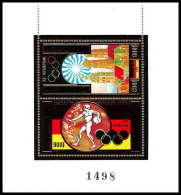 57/ Khmère Cambodge (Cambodia) ** MNH N° 27 C/D OR (gold Stamps) Jeux Olympiques (olympic Games) MUNICH 72 - Kampuchea