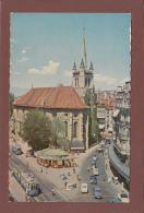 Vaud - LAUSANNE - Eglise St-François Et Kiosque - Tram - VD Vaud