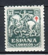 España 1945. Edifil 994 ** MNH. - 1931-50 Unused Stamps