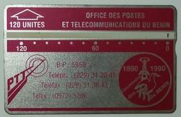 BENIN - L&G - Trial - 120 Units - 1990 - 009B - 4000ex - Used - Rare - Benin
