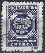 Poland 1945 - Official : National Arms - Eagle ( Mi D 21 - YT S 21 ) Perf. 11¼ - Dienstzegels