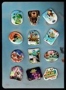 Walt DISNEY - 12 Pin's - Série LES NOUVEAUX HEROS - NEW GENERATION - Disney