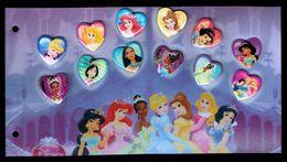 Walt DISNEY - 12 Pin's - Série Classiques 1: Princesses Et Héroïnes. - Disney
