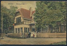 Ansichtskarte Foto Waldschenke Aachen Nach Krefeld 1899 - Deutschland