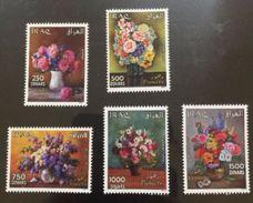 Iraq 2016 New Flower Stamp Set Fauna Flora MNH - Iraq