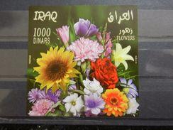 Iraq 2012 MNH SS FLOWERS Flora - Iraq