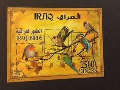 Iraq 2014 Birds Stamps Souvenir Sheet - Iraq
