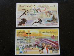 Iraq 2012 2x SS MNH London Olympic Games - Iraq