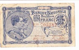 BANQUE NATIONALE De BELGIQUE  24-03-1920 - [ 3] German Occupation Of Belgium
