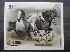 Iraq 2011 SS MNH Arabian Horses - Iraq