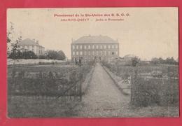 Aulnois-Quèvy - Pensionnat De La Ste Union - Jardin Et Promenades - 1909 ( Voir Verso ) - Quévy