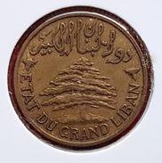 Etat Du Grand Liban (protectorat Français) - Lebanon : 5 Piastres 1936 - Colonies
