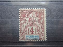 VEND BEAU TIMBRE DE NOUVELLE - CALEDONIE N° 43 , X !!! - Nouvelle-Calédonie